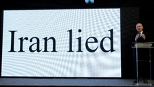 The US has backed 'compelling' claims from Israel that Iran tried covering up its nuclear weapons programme.