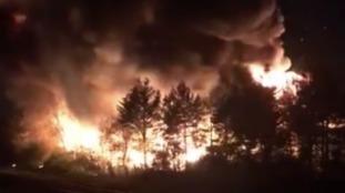 Crews battle large factory fire near railway lines as 'explosions' heard in Kirkdale
