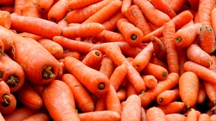 The drug was found hidden in tins marked as carrot juice