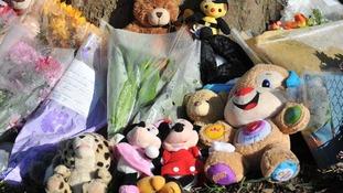 Toys left at scene