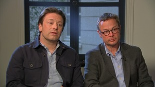 Jamie Oliver and Hugh Fearnley-Whittingstall demand action to tackle obesity crisis