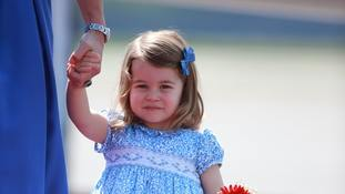 Kensington Palace says thanks for Princess Charlotte's birthday messages
