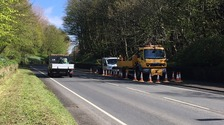 Cumbria County Council later removed the lamp post involved in the collision