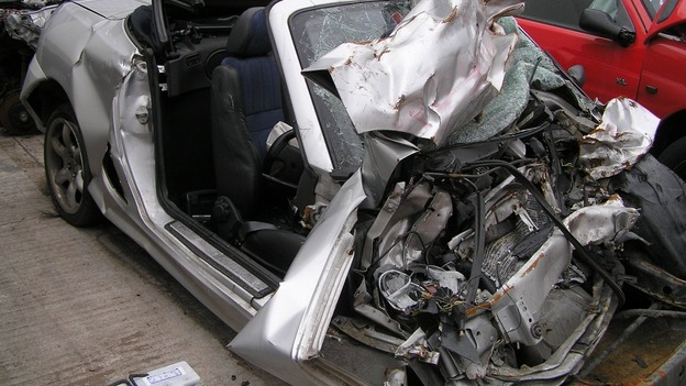Car crash car crash procedure for The federal motor vehicle safety standards are written