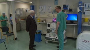 New 'lifesaver' at Addenbrooke's - 50 years on from first liver transplant
