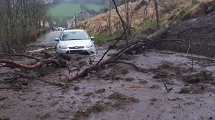 Road hit by landslide to partially reopen tomorrow