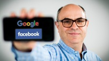 Facebook, Google & You: What They Know is on ITV at 7:30pm on Thursday 3rd May