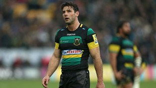 Ben Foden will lead out the Saints on his final appearance.