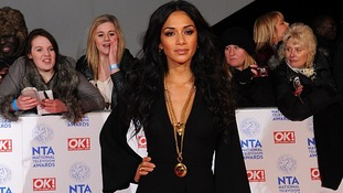 Nicole Scherzinger arriving for the 2013 National Television Awards at the O2 Arena