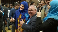 Conservatives celebrate winning back control of Peterborough City Council.