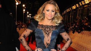 Kimberley Walsh arriving for the 2013 National Television Awards at the O2 Arena