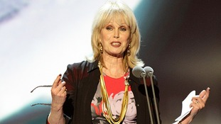 Joanna Lumley won the Special Recognition Awards at the 2013 National Television Awards at the O2 Arena