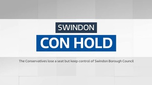 Local Elections: Swindon - Con hold