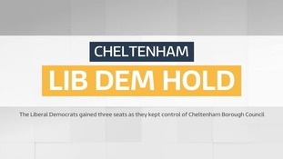 Local Elections: Cheltenham - Lib Dem hold