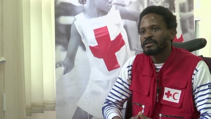 Marshal Mukuvare, Disaster Management Delegate for the International Federation of Red Cross
