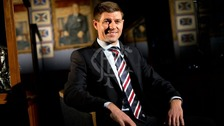 Steven Gerrard takes charge at Rangers.