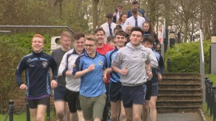 Nearly 60 pupils to run Belfast Marathon for friend who lost mum to cancer