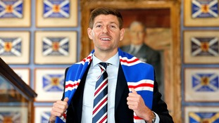 Steven Gerrard appointed Rangers manager: Watch press conference in full