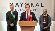 Barnsley MP Dan Jarvis has become the first directly elected mayor of the Sheffield City Region.