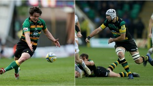 Jamie Elliott and Michael Paterson: Duo added to list of departing Northampton Saints players