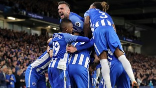 Gross header seals Brighton win over Manchester United and Premier League safety