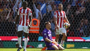 Stoke City's ten year stay in the Premier League is over after home defeat to Crystal Palace