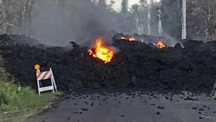 Hundreds of people have fled from their homes after Hawaii's Kilauea volcano erupted.