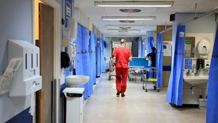 Stock picture of a hospital ward.
