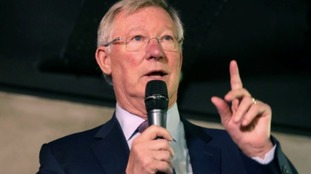 World sends wishes to United legend Ferguson