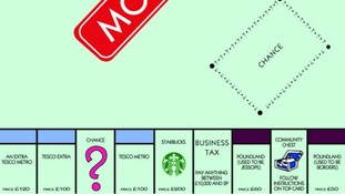 Latest version of the famous Monopoly board