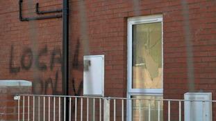 East Belfast vandalism being treated as hate crime