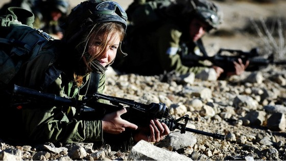 Women in Israel's Carakal Battalion