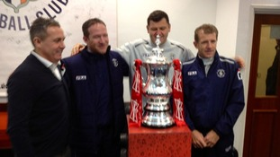 The FA Cup at Luton