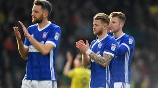 Luke Hyam: Ipswich Town midfielder to leave Portman Road