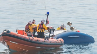 Man dies after boat capsizes off Plymouth coast