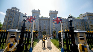 LegoLand build Windsor Castle replica for royal wedding