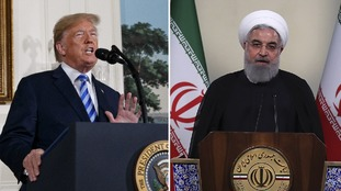 Donald Trump said the agreement was 'disastrous', while Iran warned it could begin enriching uranium.