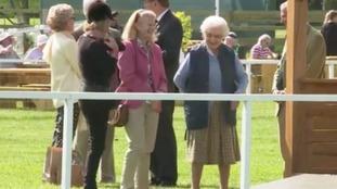 Queen enjoys Royal Windsor horse show