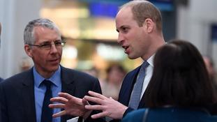 Prince William reopens London Bridge station