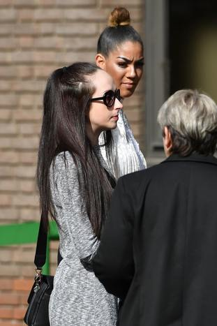 Cara Blackie, Summer's mother, outside court.