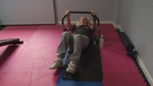 John Hamilton is a keen gym user despite being 100-years-old.