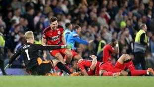 Huddersfield Town secure Premier League status after Chelsea draw