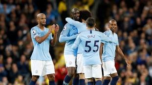 Yaya Toure bids Man City farewell in record-breaking win over Brighton