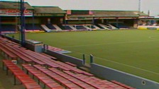 Luton Town's Kenilworth Road ground pictured in 1988.
