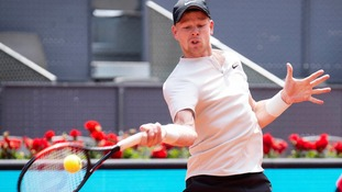 Kyle Edmund beats Goffin in straight sets to move into Madrid quarter-finals