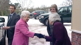 The Queen visits Sandringham WI