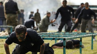 The course was organized by the Hamas Ministry of Education in Gaza
