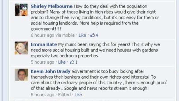 Some of your views from our Facebook conversation