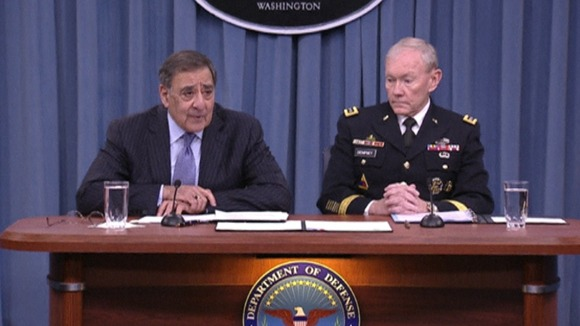 United States Secretary of Defence Leon Panetta