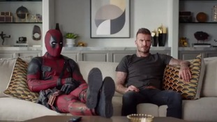 Ryan Reynolds apologises to David Beckham for mocking his accent in Deadpool